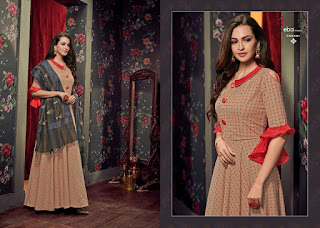 Eba Lifestyle banaras vol 3 Kurti with Dupatta