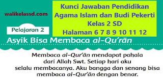 Kunci Jawaban Pendidikan Agama Islam dan Budi Pekerti Kelas 2 Halaman 6 7 8 9 10 11 12