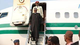 Yanzu Yanzu: Shugaba Buhari ya dawo gida Najeriya