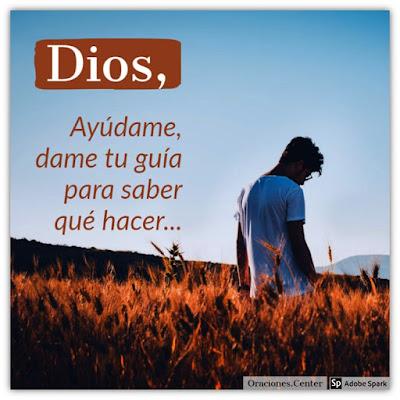 Oración a Dios Pidiendo Ayuda