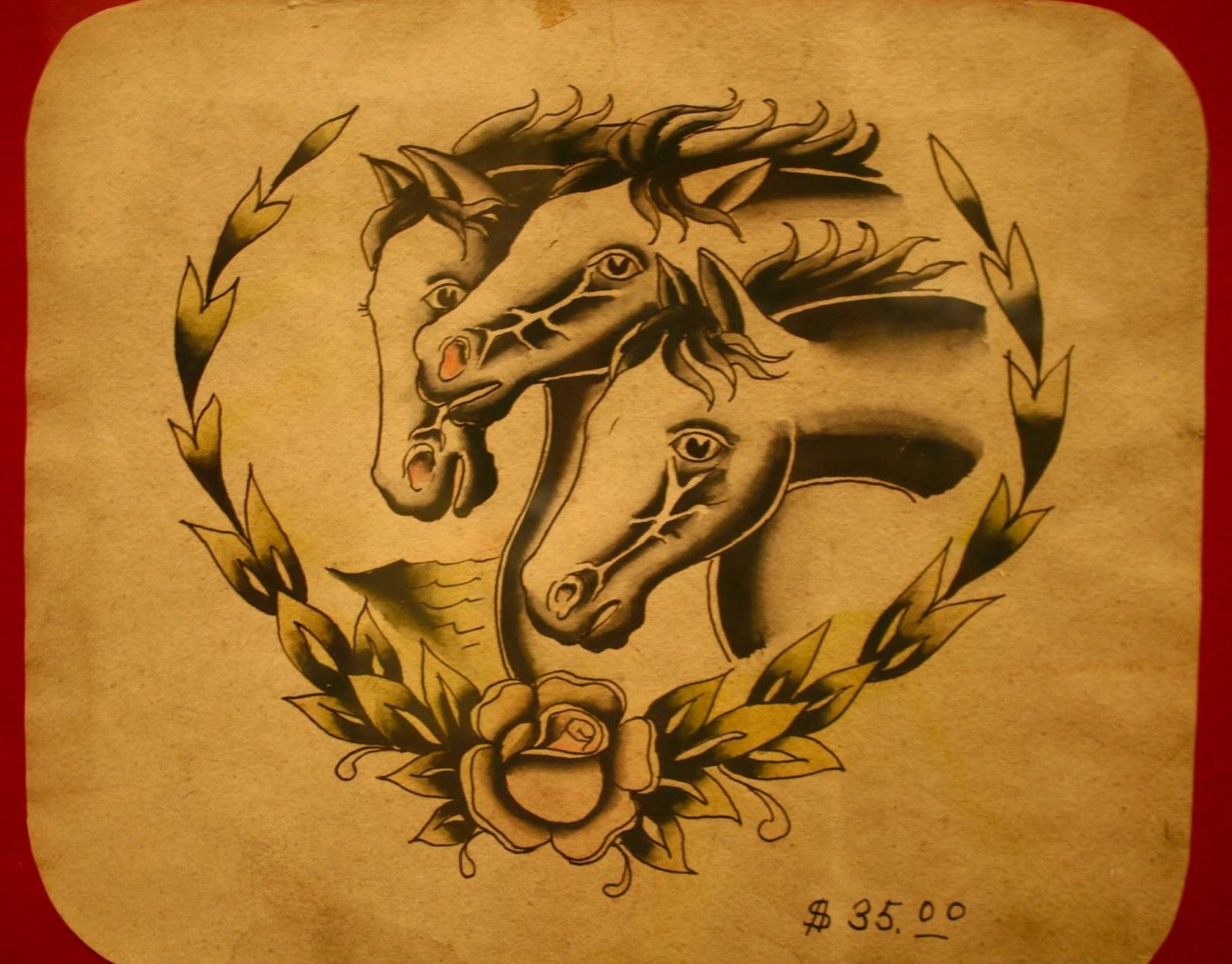 Pharaohs Horses Tattoo Meaning