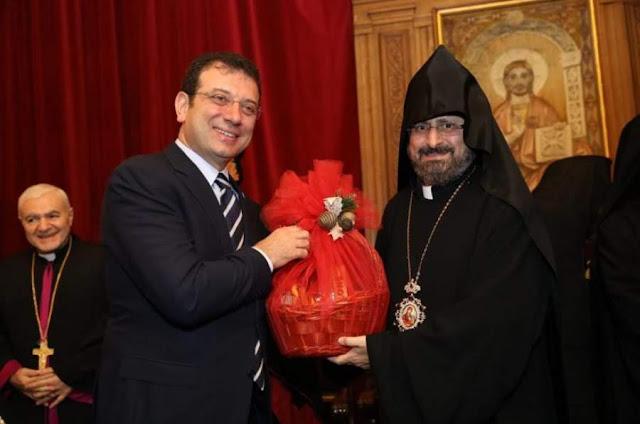 Alcalde de Estambul visita patriarca armenio