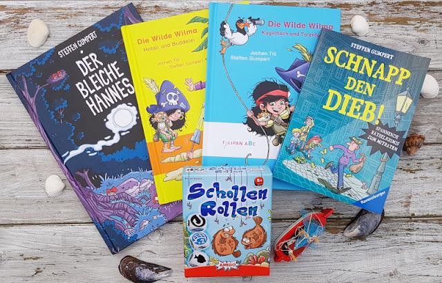 Maritime Kinderbücher, Graphik Novels und Spiele: Der Autor und Illustrator Steffen Gumpert im Interview. Ich stelle Euch das spannende Werk des Autors und Illustrators auf Küstenkidsunterwegs ausführlich vor.