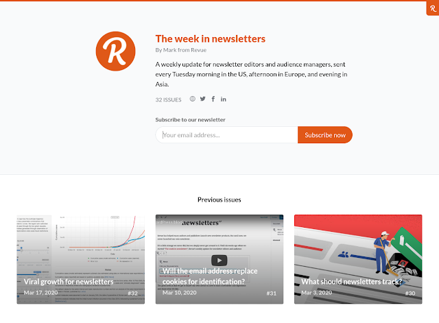The week in newsletters by Revue