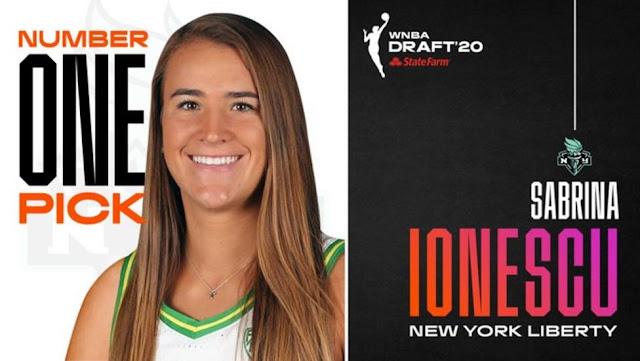 WNBA Draft 2020 - El futuro de las NY Liberty en manos de Sabrina Ionescu, nº 1 indiscutible