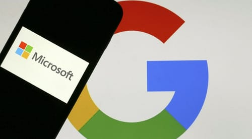 Open a dispute between Microsoft and Google
