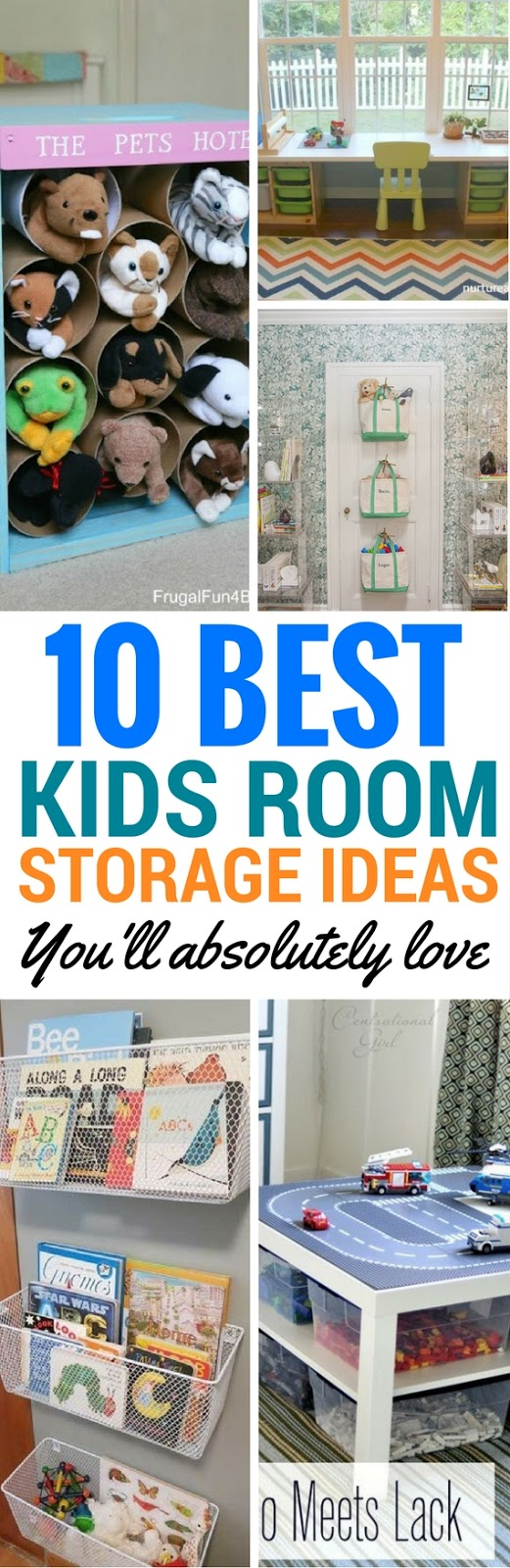 kids room ideas, kids room storage ideas, cheap kids room ideas, kids room organizing ideas, kids room ideas on a budget