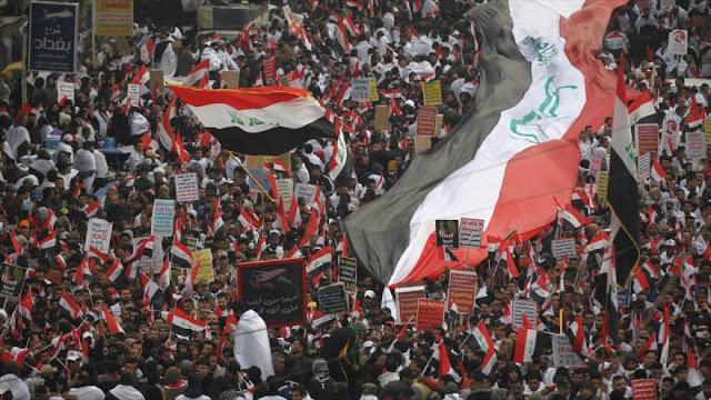 Iraquíes expresan su rechazo a la presencia de EEUU en su suelo