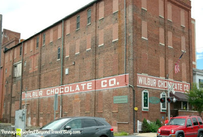 The Old Wilbur Chocolate Co. Factory Building in Lititz Pennsylvania