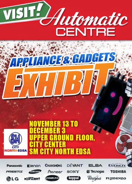 Automatic Centre: SM North Edsa Appliance and Gadgets Exhibit 2014