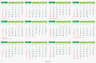 Download Gratis Kalender 2020