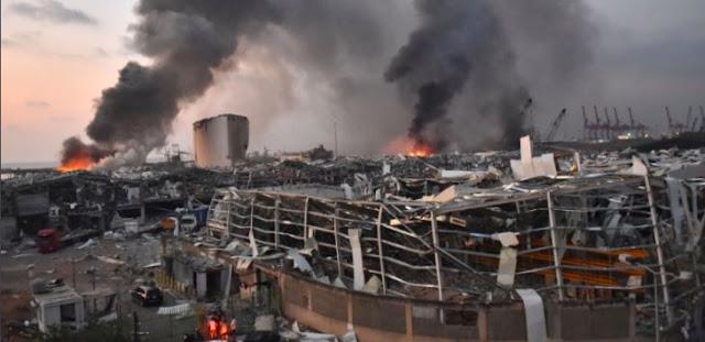 Korban Ledakan di Beirut Lebanon 4.000, Trump: Ini Serangan Mengerikan