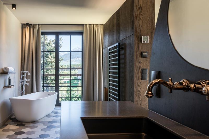 suite particolare del bagno