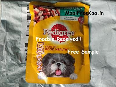Free Sample Pedigree Gravy Pets Food