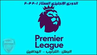 الدوري الانجليزي,ترتيب الدوري الانجليزي,الدوري الإنجليزي الممتاز,هداف الدوري الانجليزي,ارسنال
