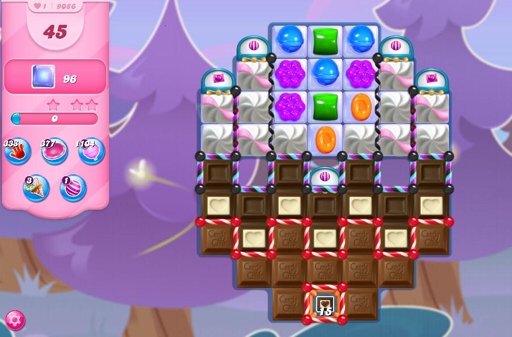 Candy Crush Saga level 9086