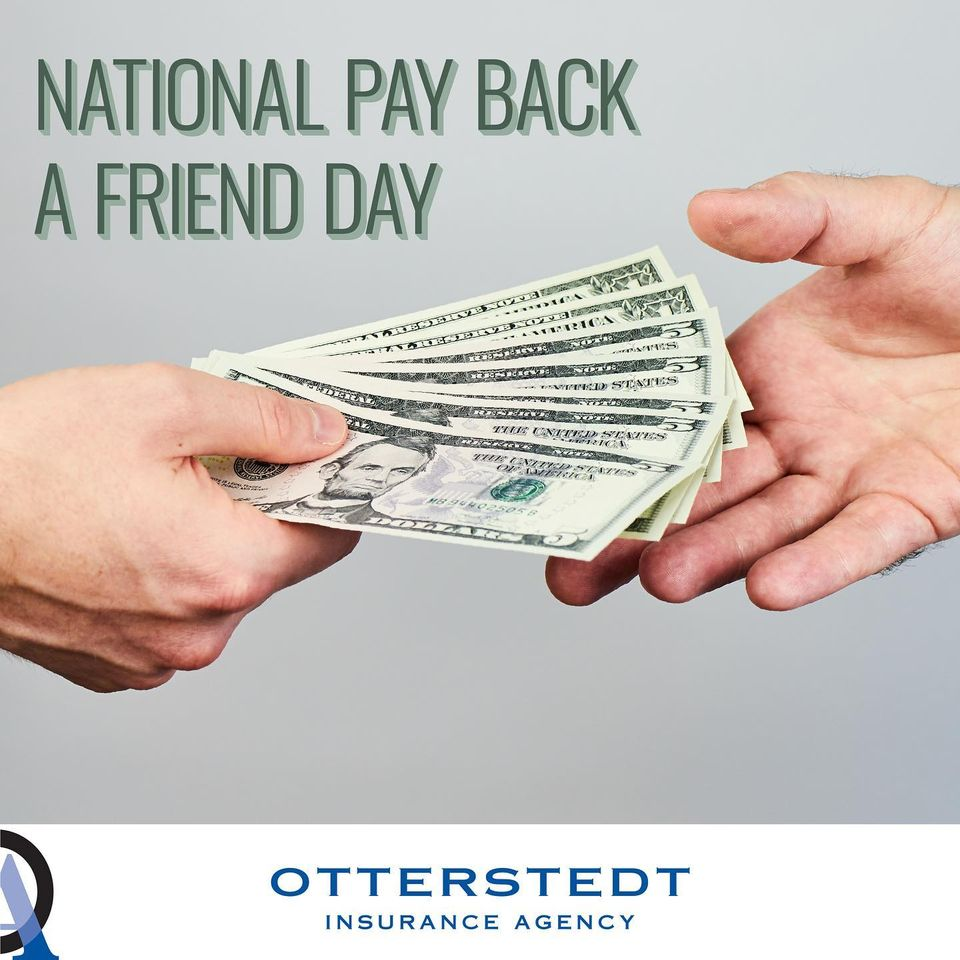 National Pay Back a Friend Day Wishes Pics