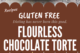 Flourless Chocolate Torte Gluten free #glutenfree