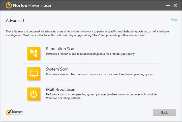 تحميل برنامج Norton Power Eraser لحل جميع المشاكل الناتجة عن بعض البرامج الخادعة