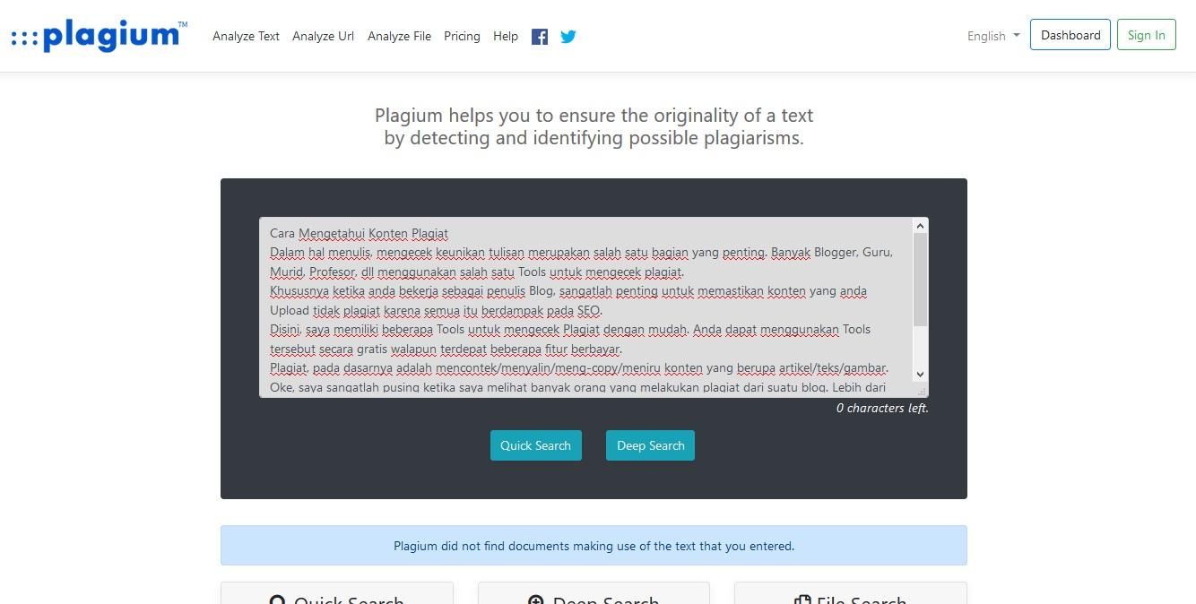 Cara Mengetahui Konten Plagiat