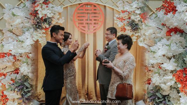 Tradisi Tea Pai Dalam Rangkaian Pernikahan Adat Tionghoa