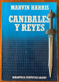 Portada del libro Caníbales y reyes, de Marvin Harris