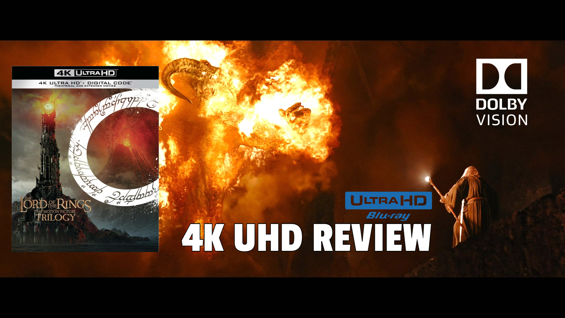 The Lord of the Rings: The Motion Picture Trilogy 4K Ultra HD Blu-ray Review: The Basics Banner Image