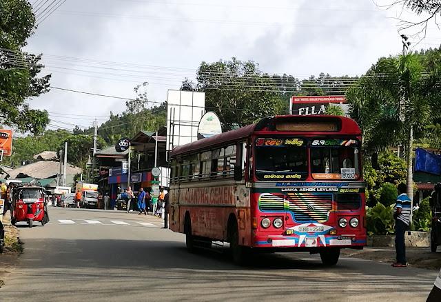 Ella to Mirissa bus schedule