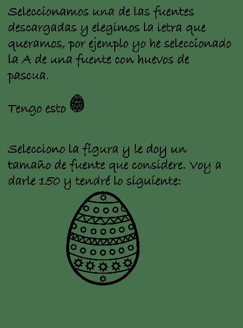 easter, pascua, printables, imprimibles, huevos, conejos, png, descargar, gratis, tutorial