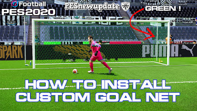 PES 2020 Custom Goal Net by Guorfan