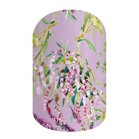 jamberry, jamberry wraps, jamberry host exclusive, march 2016, nail art, lilac, nail wraps