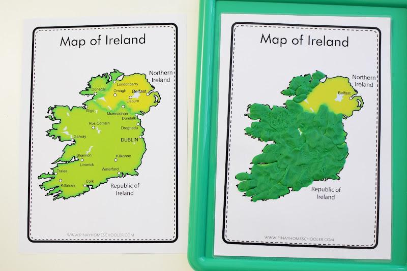 Ireland Country Study: Maps