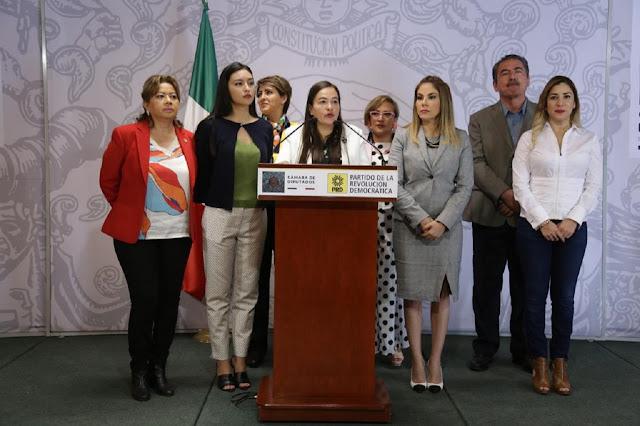 PRD pide a la Cámara de Diputados cumplir con sus propias leyes en materia de paridad