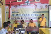 Pelatihan Pengelolaan sistem Informasi data base Partai Golkar Aceh