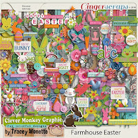 Kit : Farmhouse Easter Bundle by Clever Monkey Graphics