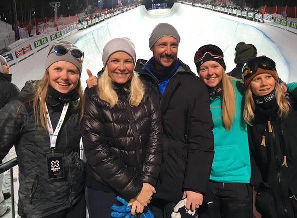Crown Prince Haakon and Crown Princess Mette-Marit of Norway visited Winter X-Games 2016 in Oslo. - Several top athletes are confirmed, among them X Games gold medalists Kelly Clark, Jamie Anderson, Silje Norendal and Iouri Podladtchikov, and X Games medalists Ståle Sandbech, Torin Yater-Wallace, Kjersti Buaas, Ayumu Hirano and Tiril Sjåstad Christiansen.