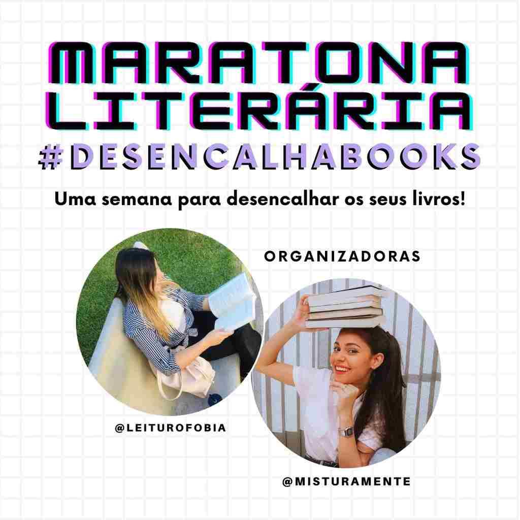 Maratona Literária - Livros de Rachel Fernandes são escolhidos como prêmios do evento virtual