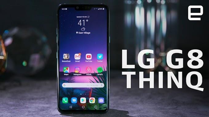 SORTEIO de Um Smartphone LG G8 ThinQ!