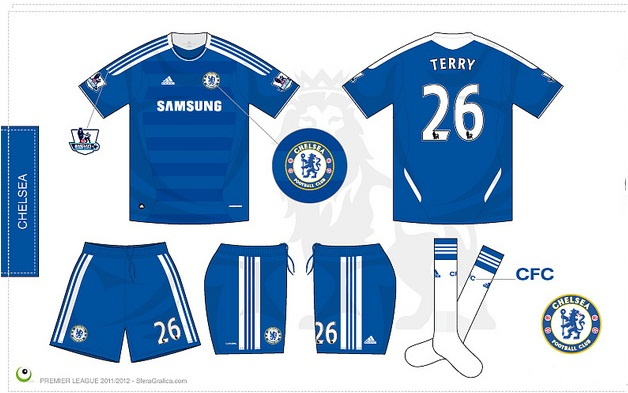promo code 35cf0 f965b The New Chelsea 2011-2012 Kits - Info 24 Online
