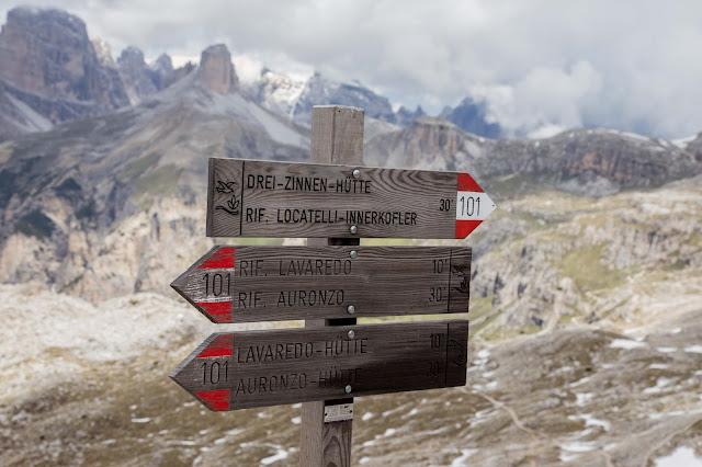 Rundtour Drei Zinnen - Dreizinnenhütte  Wanderung Sextner Dolomiten  Wandern Südtirol  Tourenbericht Tre Cime di Lavaredo  GPS-Track 06