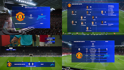 PES 2020 Scoreboard UEFA Champions League by Spursfan18