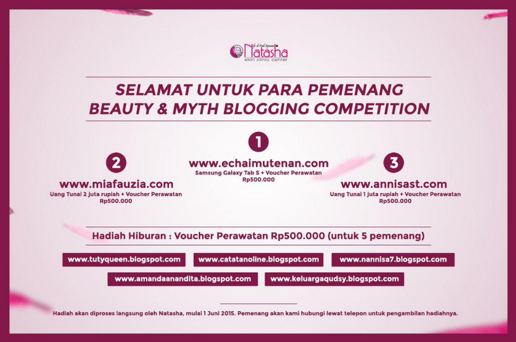 first time for blog competition
