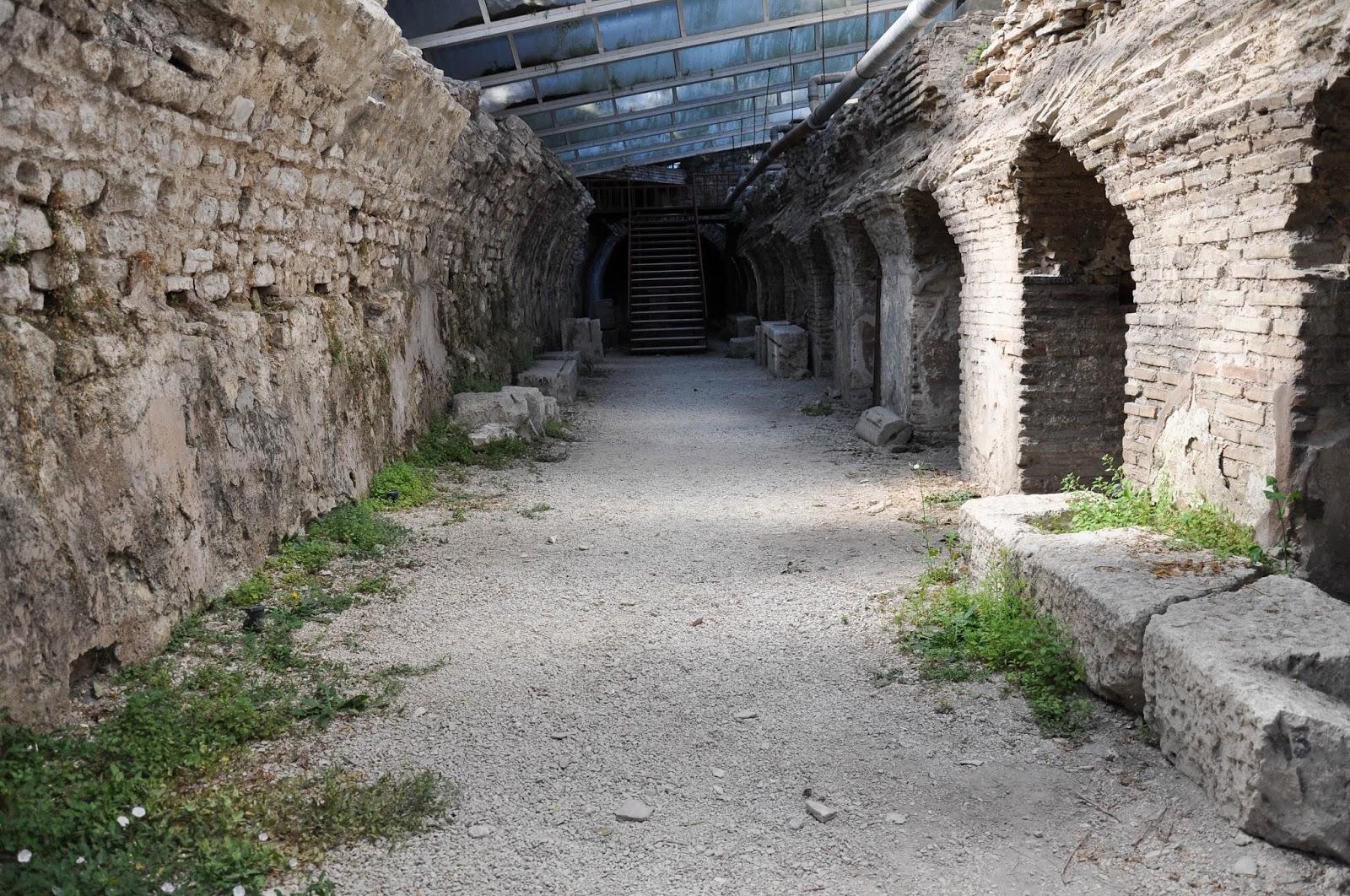 Inside The Roman Thermae, Varna, Bulgaria
