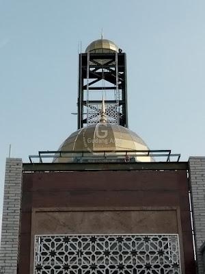 Ornamen Masjid Pagar Aluminium Cor