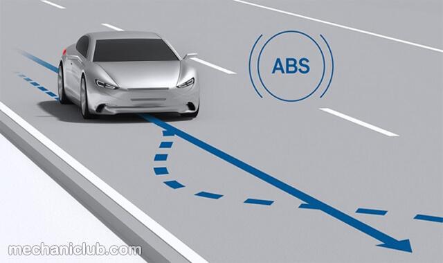 كيف يعمل نظام الفرامل ABS