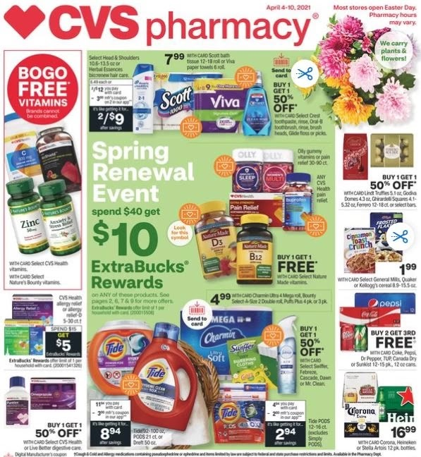 CVS Weekly Ad Preview 4/4-4/10