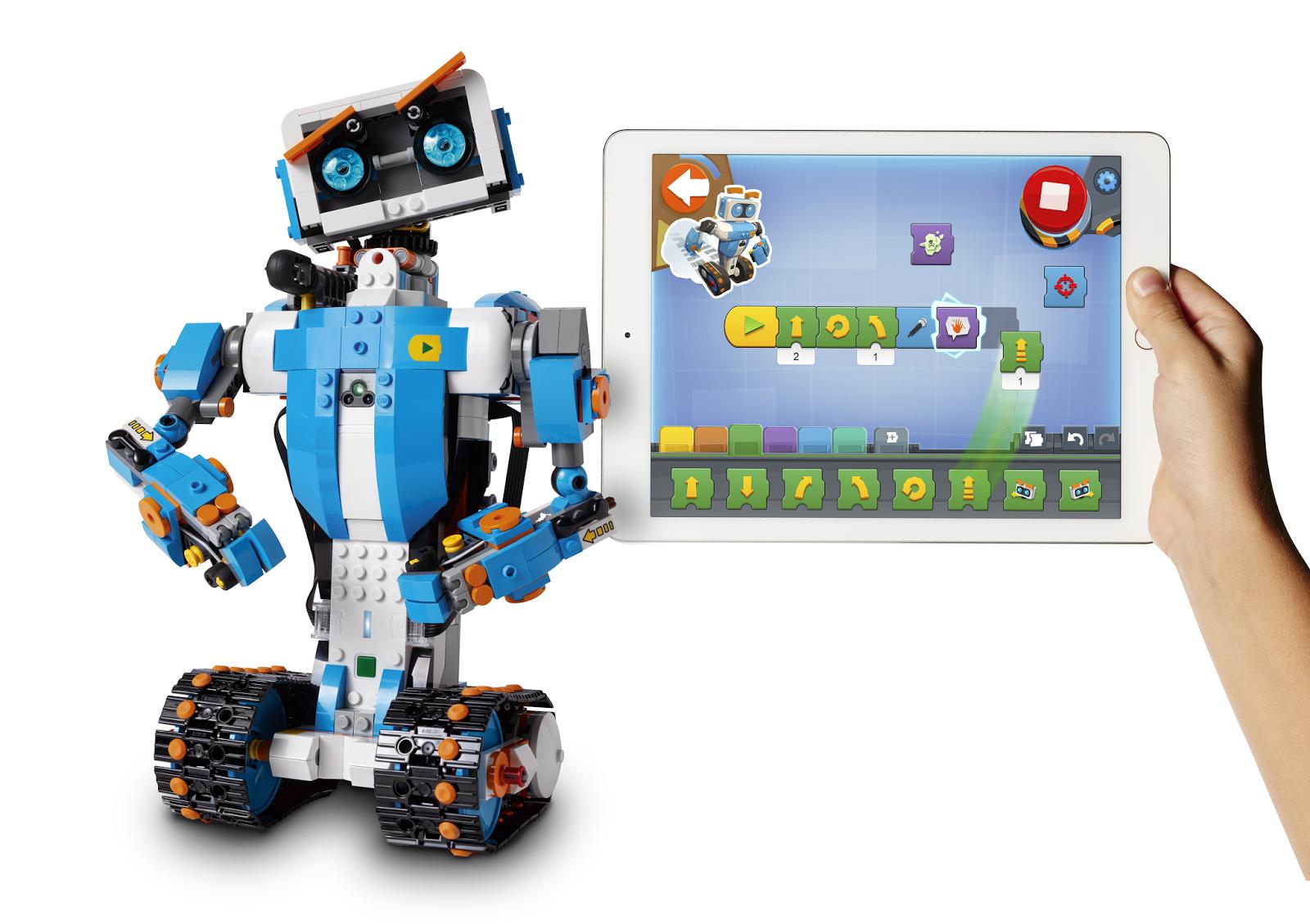 lego boost robotics for kids age 7. Black Bedroom Furniture Sets. Home Design Ideas