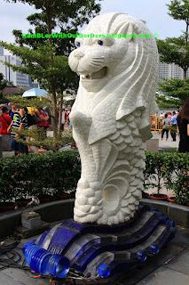 Baby Merlion, Marina Bay, Singapore