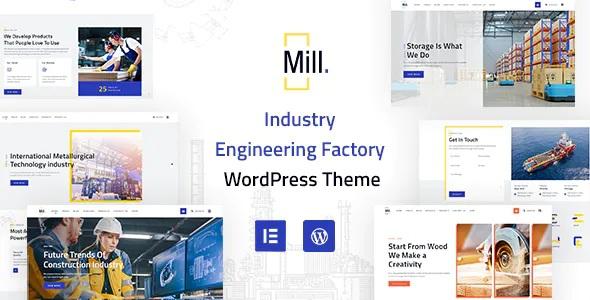 Best Industry Engineering Factory WordPress Theme