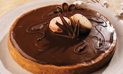Receita de Torta de chocolate gelada